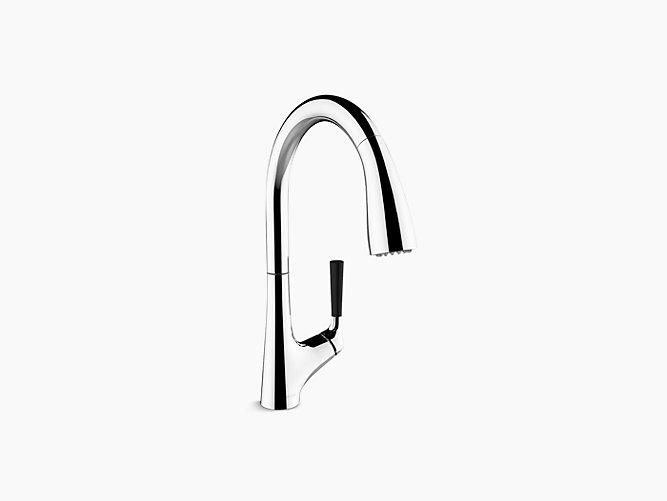 Malleco Pull Down Kitchen Faucet 562t B4 Kohler