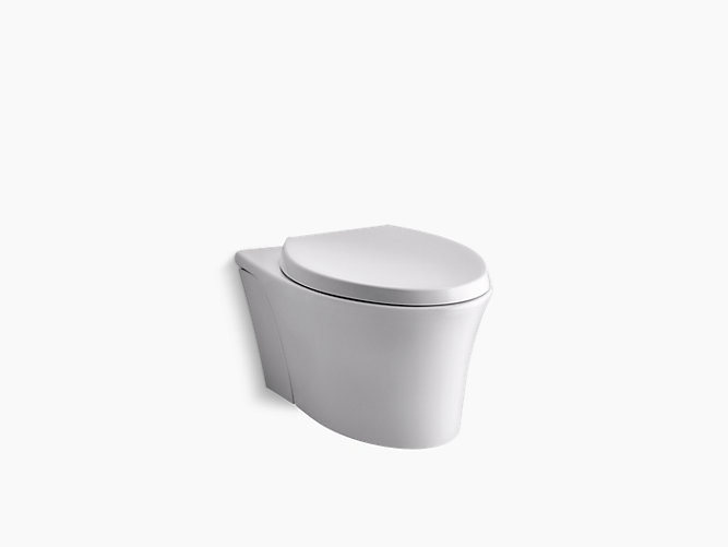 Veil® Wall-hung Dual Flush Toilet with Rimless Flushing Technology