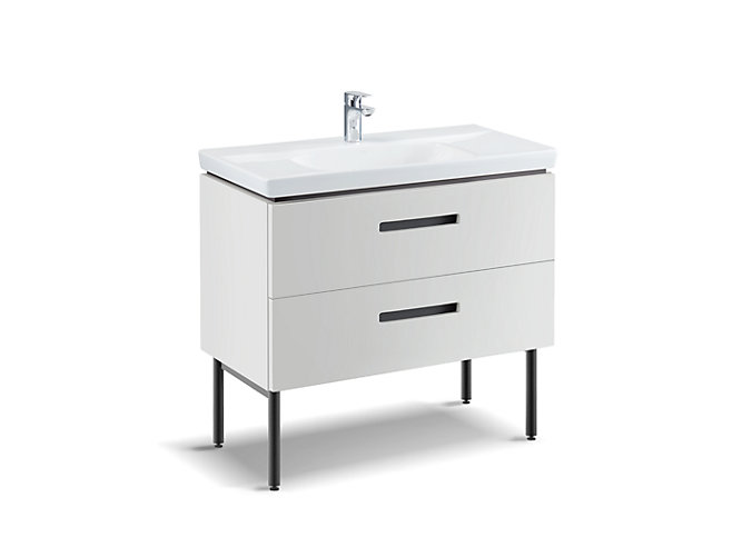 35 Bathroom Cabinet White 77138t, White Bathroom Cabinet