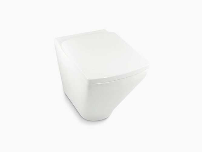 Escale Wall Faced Dual Flush Toilet 3 4 5l With Rimless