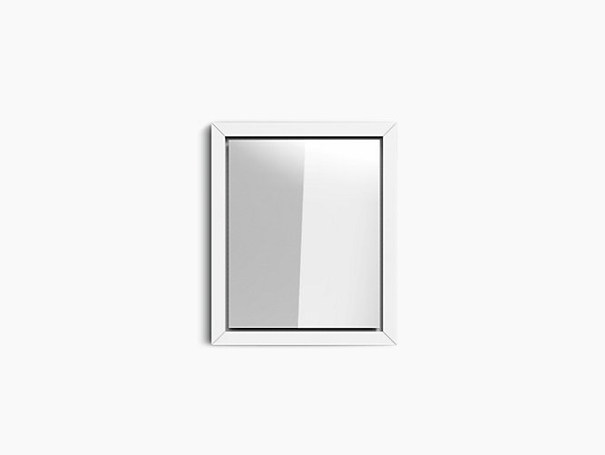 Poplin® Mirror in Kohler White