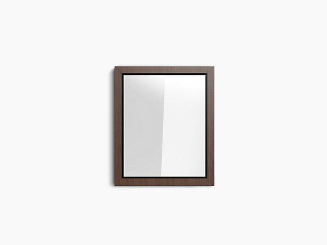 Poplin® Mirror in Claret Suede