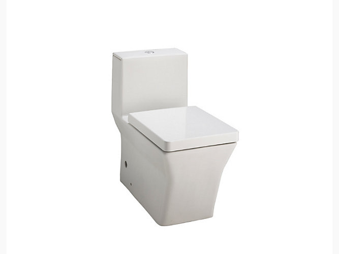 Rêve Skirted One-piece Dual Flush 3/6L Washdown Toilet with S-trap