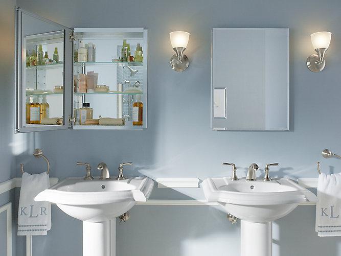 20 Inch Medicine Cabinet With Mirrored Door K Cb