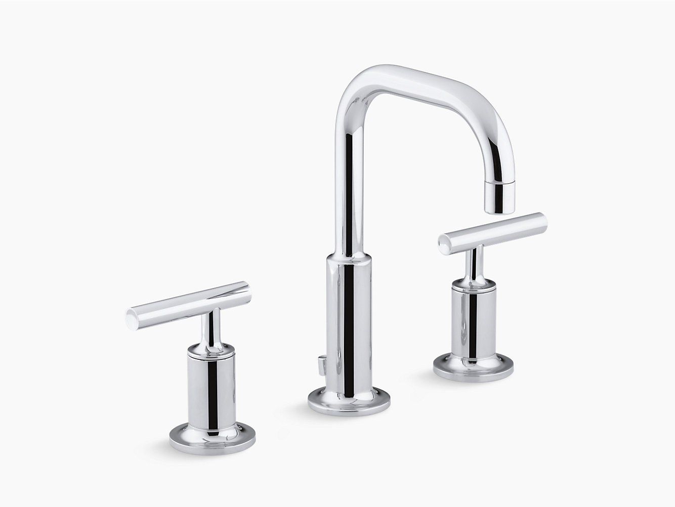 kohler single gallery review purist s spray faucet decorating side kitchen faucets