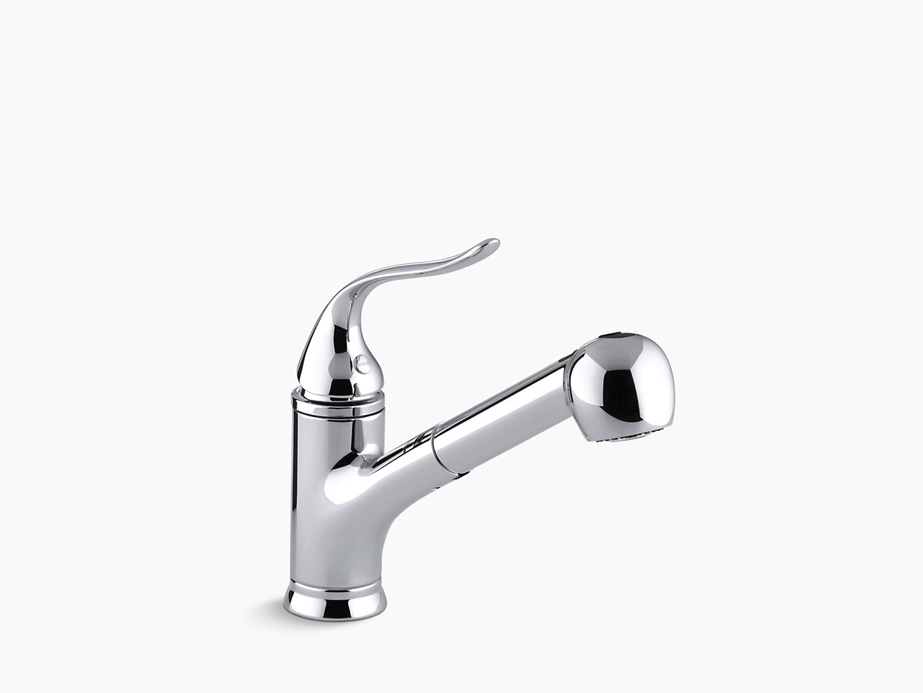 k-15160 | coralais pull-out spray kitchen sink faucet