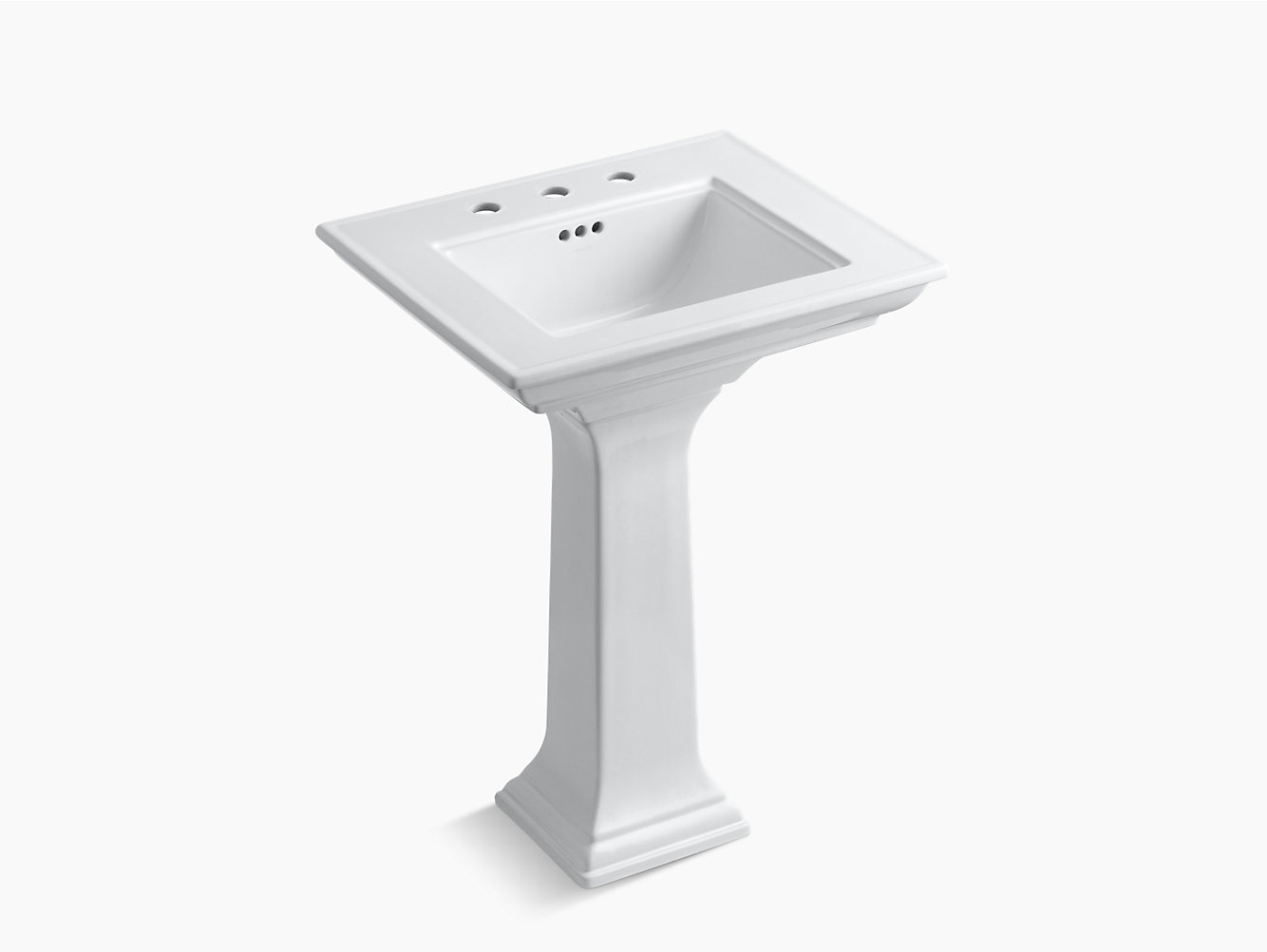 Memoirs Pedestal Sink with Stately Design, 8-Inch Centers   K-2344-8 ...