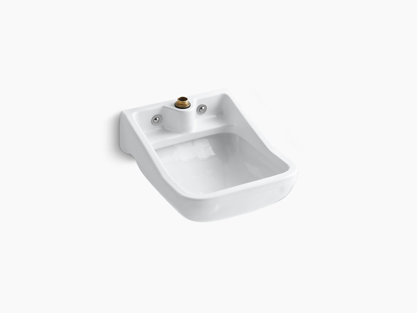 K 12867 Camerton Wall Mounted Blow Out Service Sink Kohler
