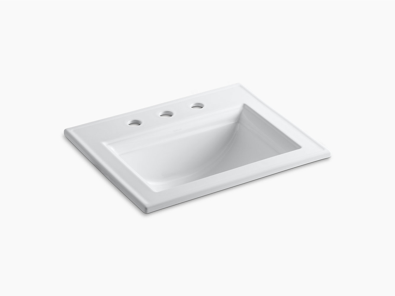 Memoirs Drop-In Sink with Stately Design, 8-Inch Centers | K-2337-8 ...