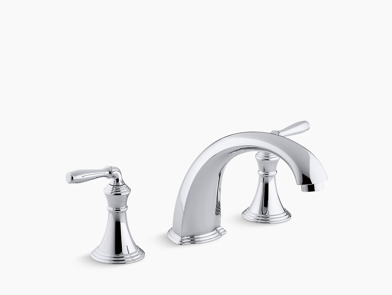 Devonshire Bath Faucet Trim with Spout and Lever Handles | K-T398-4 ...