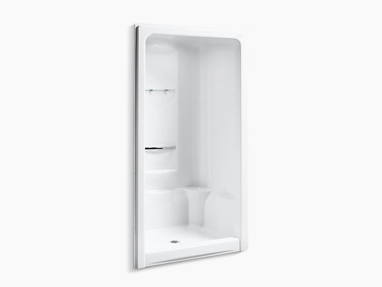 Sonata 4-Foot Shower Stall | K-1687 | KOHLER