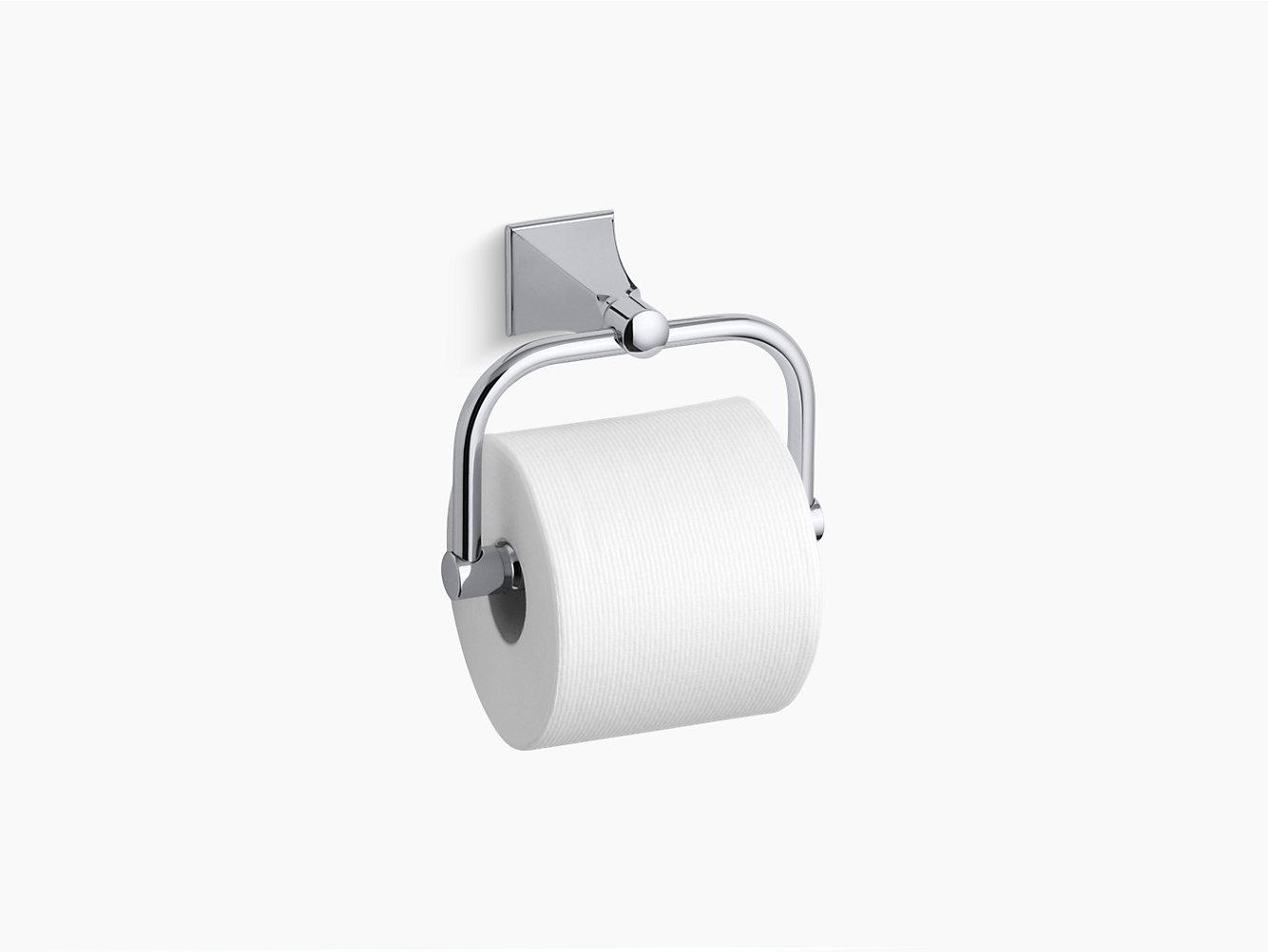 Memoirs Toilet Tissue Holder with Stately Design | K-490 | KOHLER
