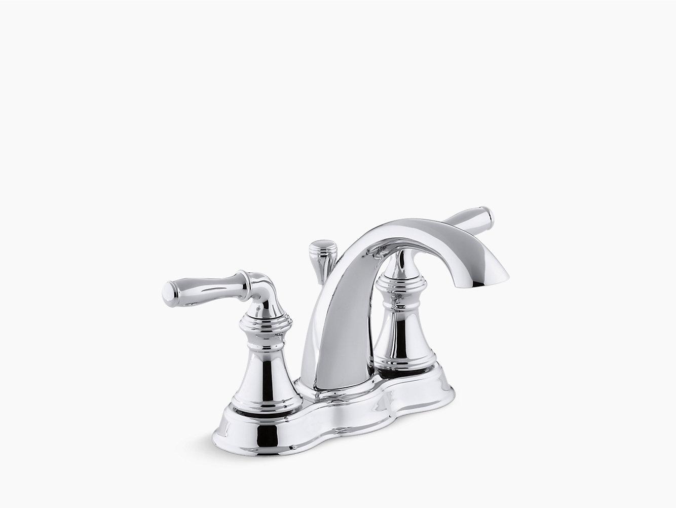 Devonshire Centerset Bathroom Sink Faucet | K-393-N4 | KOHLER