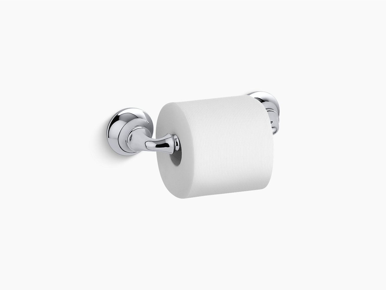 kohler 11374 forté sculpted toilet tissue holder