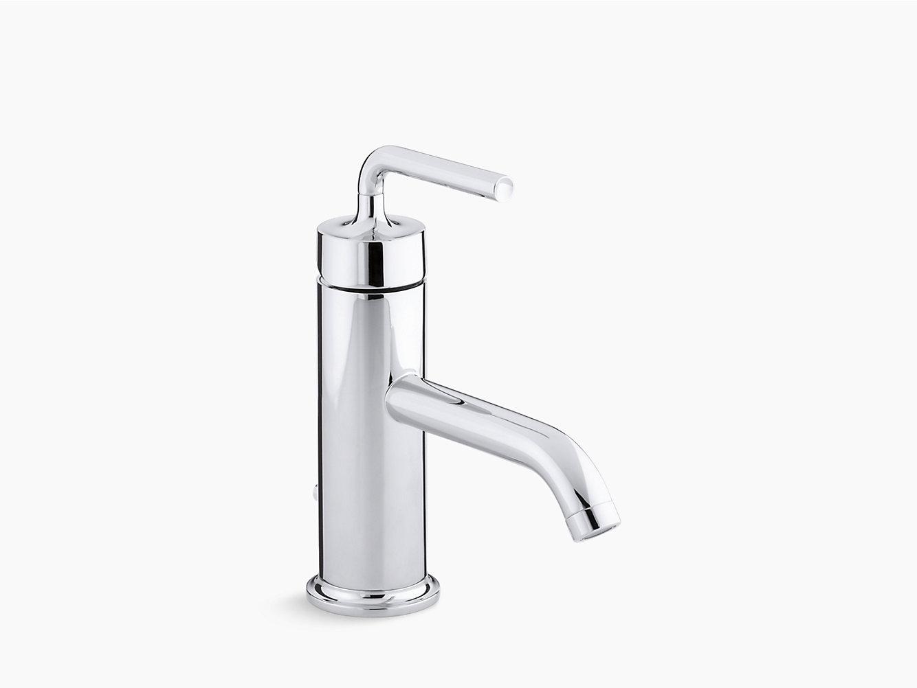 KOHLER | 14402M-4A | Llave para lavabo Purist de control monomando ...