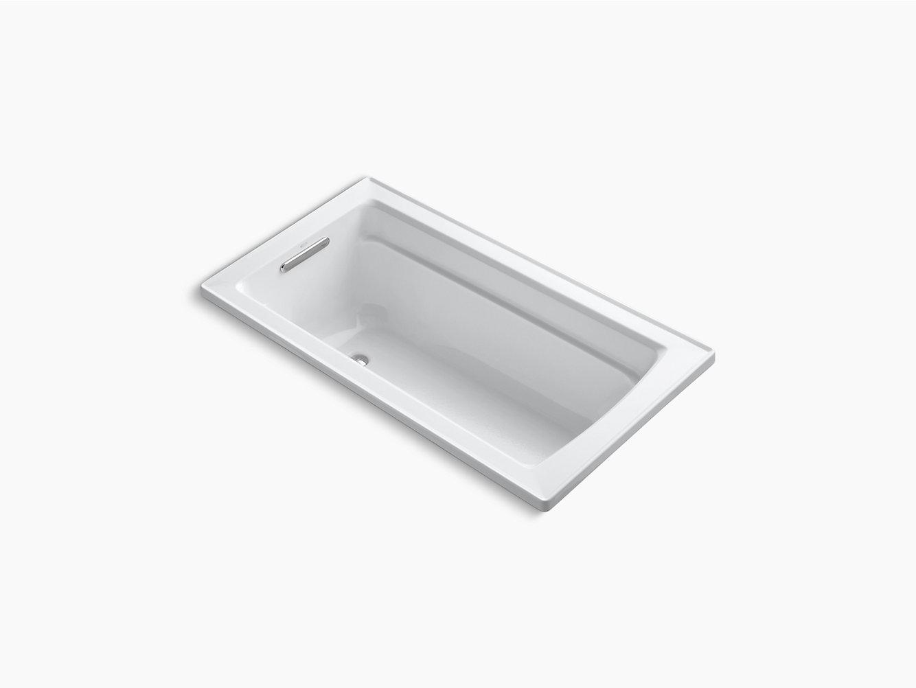 Archer 5-Foot Bath with Comfort Depth Design   K-1123   KOHLER