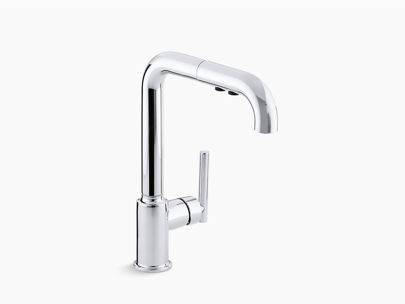 faucet purist pullout single k kohler kitchen handle faucets p