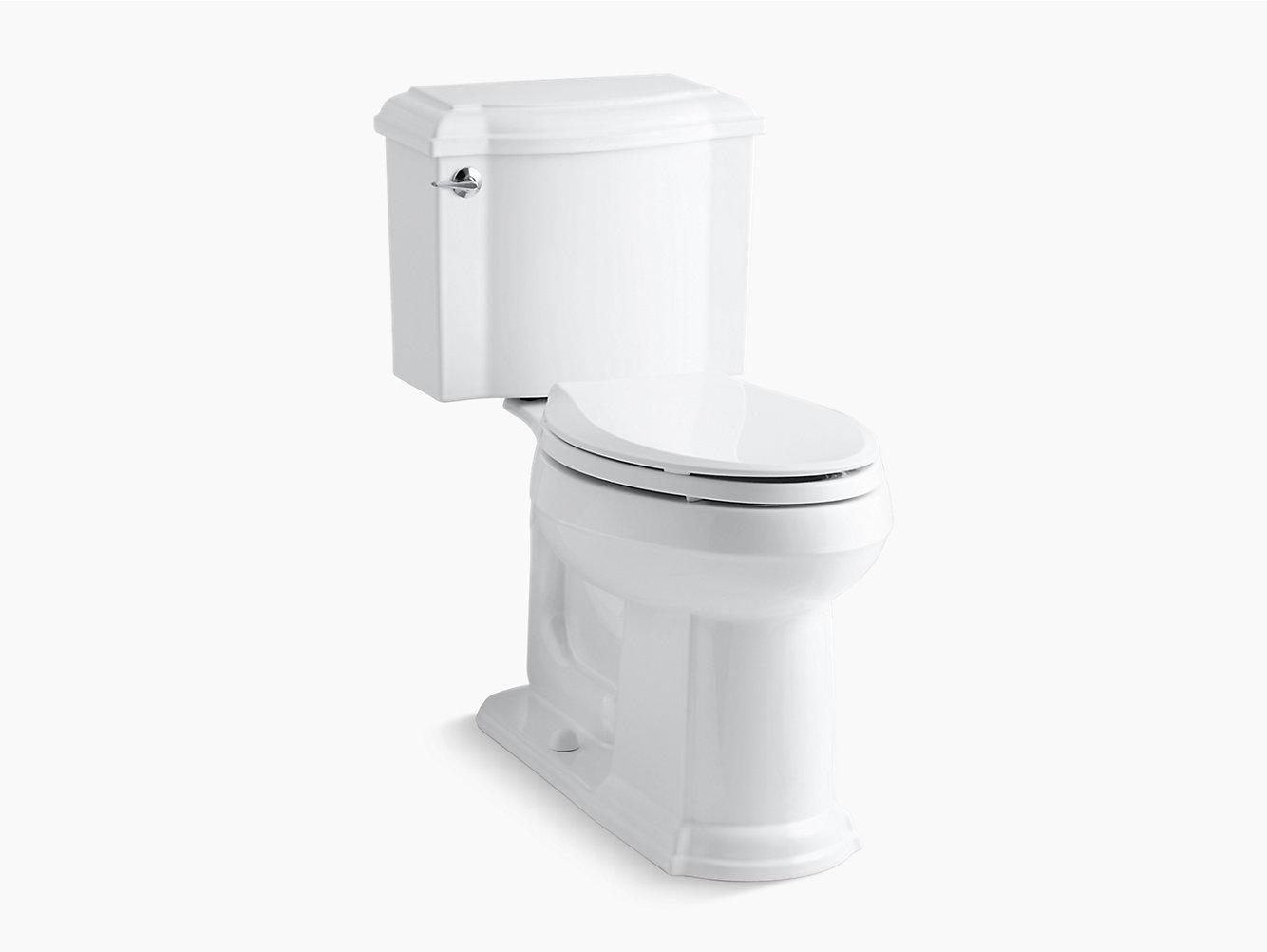 Kohlerk 3837devonshire two piece elongated 128 gpf toilet kohler view larger pooptronica Image collections