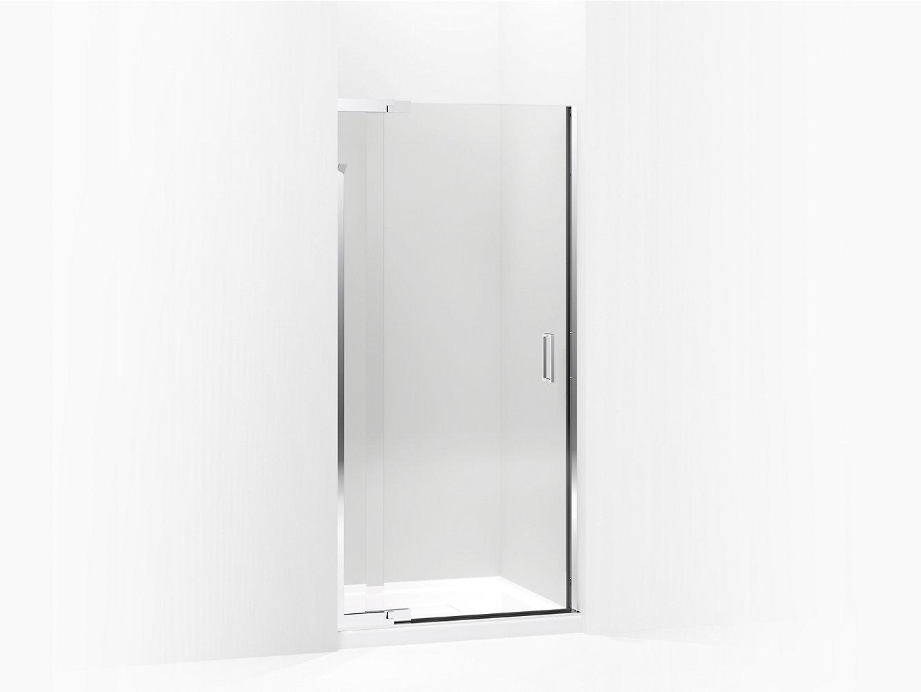 Purist Frameless Pivot Shower Door Crystal Clear Glass K 702011 L