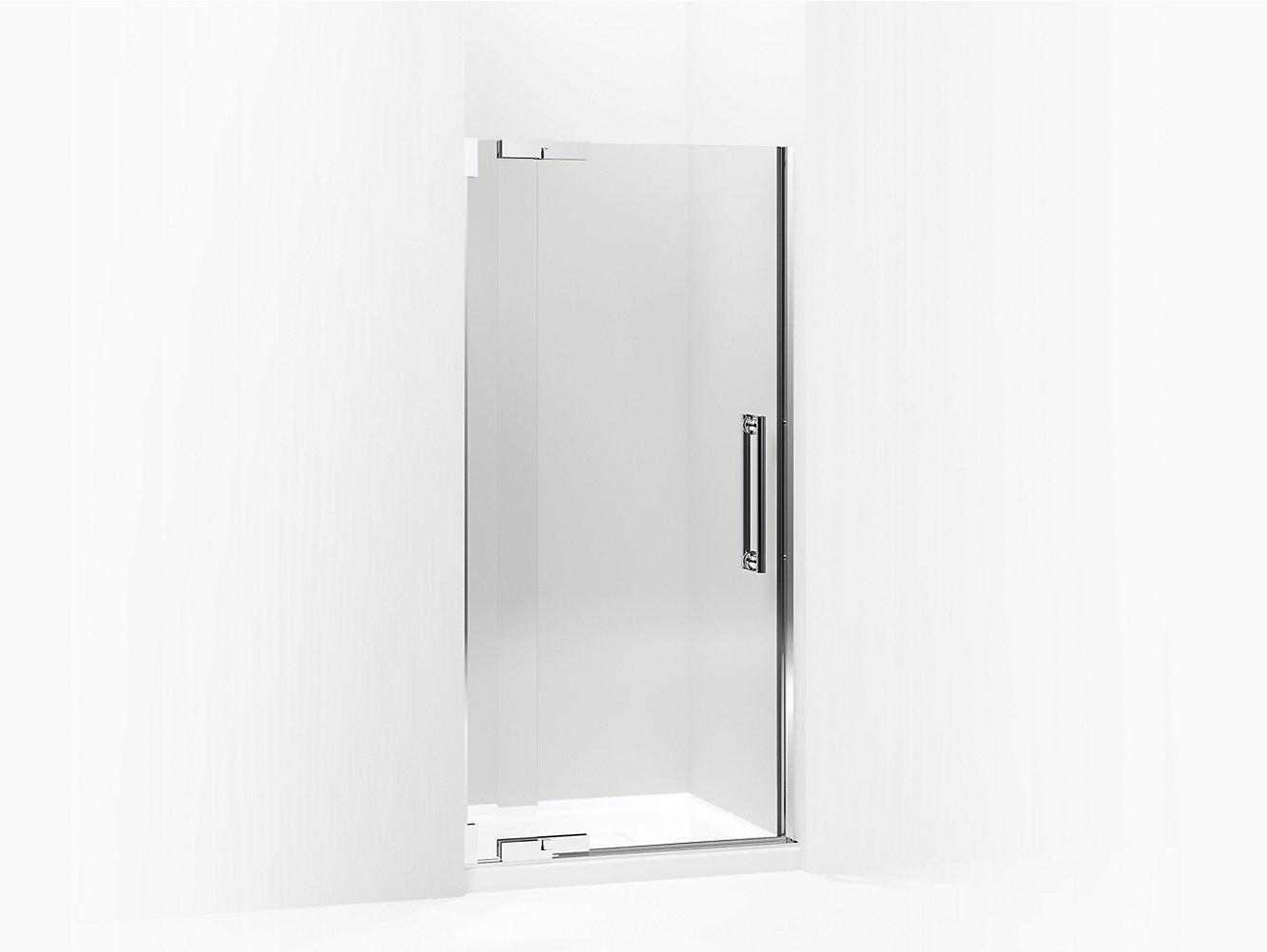 Purist Frameless Heavy Glass Pivot Shower Door K 705700 L Kohler