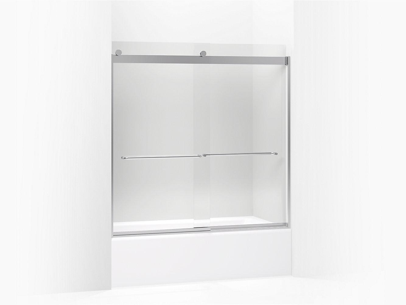 Levity Frameless Sliding Bath Door K 706006 L Kohler