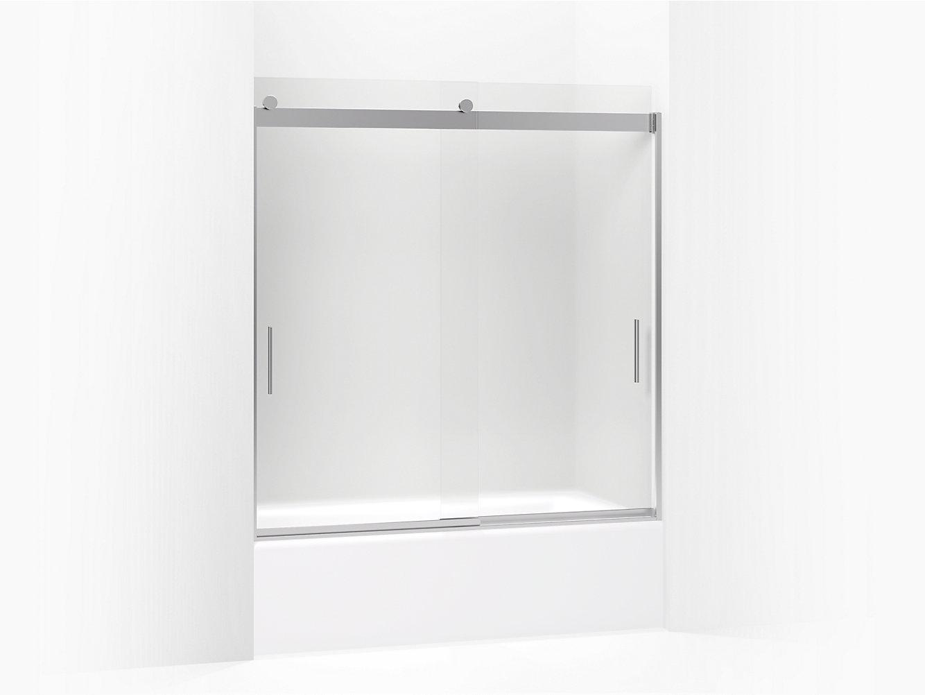 Sliding Bath Shower Doors Showering Bathroom Kohler