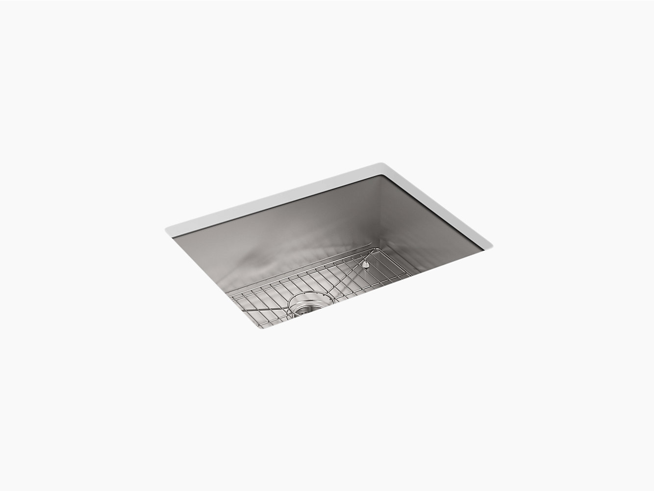 K-3822-1 | Vault Top-Mount or Under-Mount Sink with Single Faucet ...