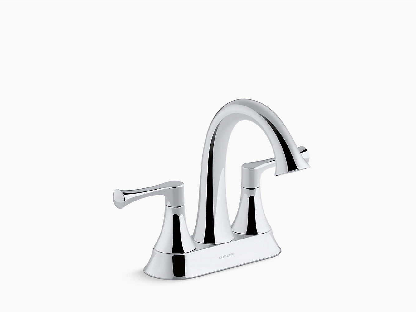 K-R78046-4D   Lilyfield Centerset Bathroom Sink Faucet   KOHLER