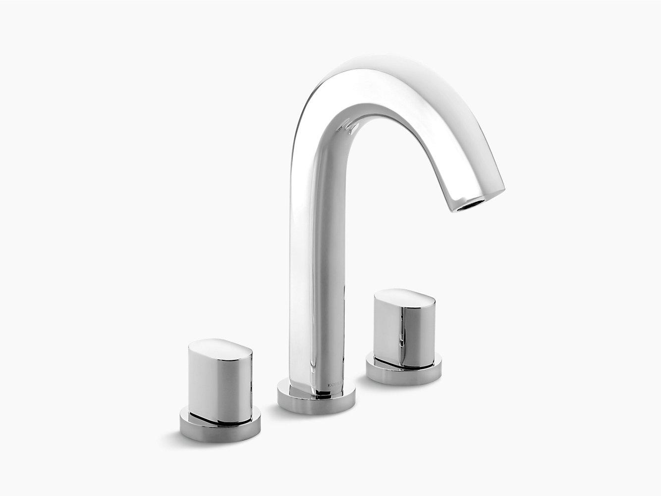 Oblo Deck-Mount Bath Faucet | 10059T-9 | KOHLER