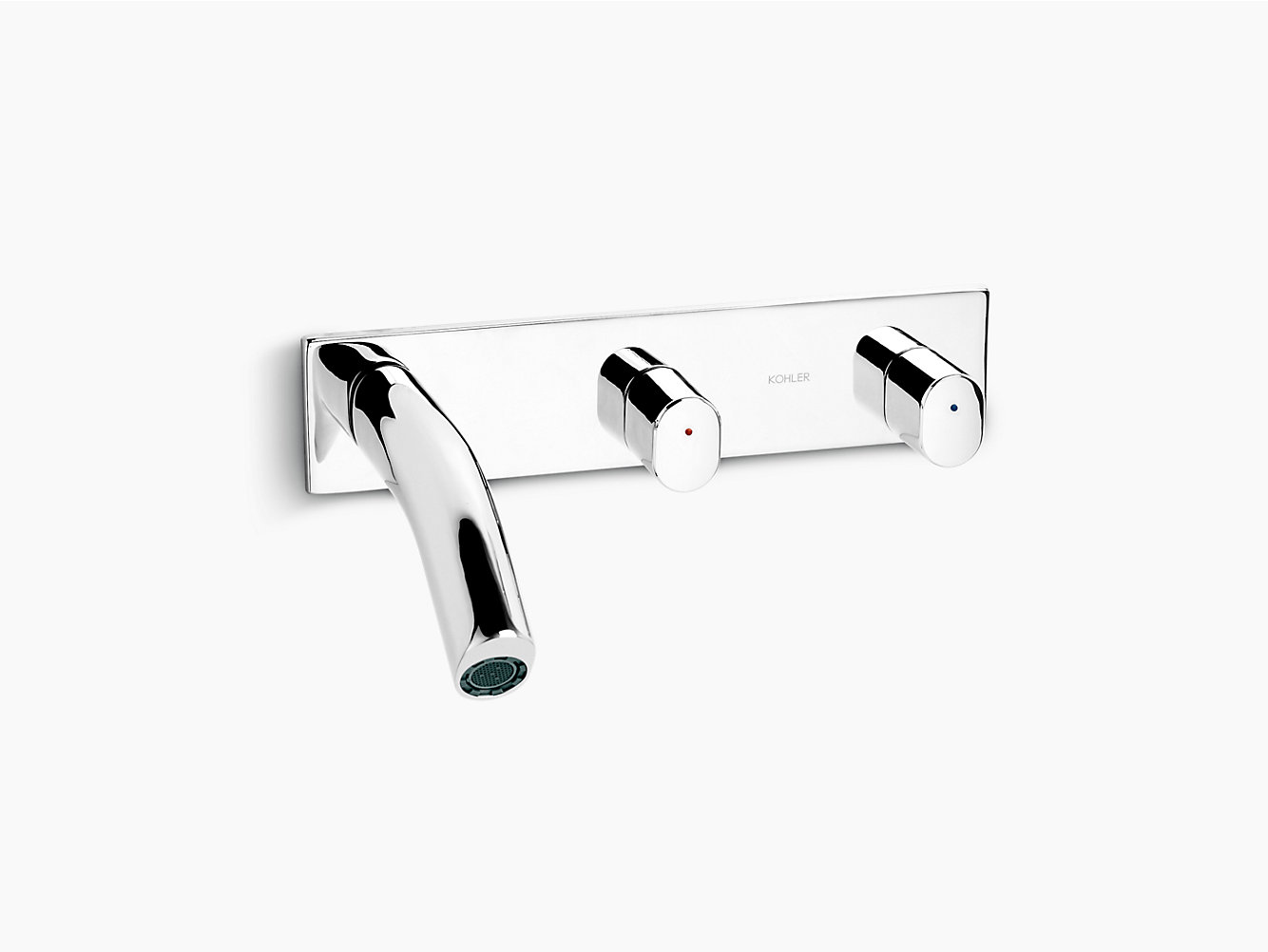 Oblo Wall-Mount Lavatory Faucet | 10087T-9 | KOHLER