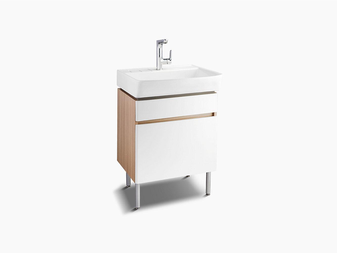 Bathroom Furniture 600mm Matte White
