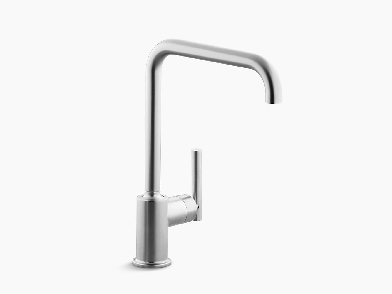 shop kohler faucet kitchen black purist bath faucets fct description roman matte