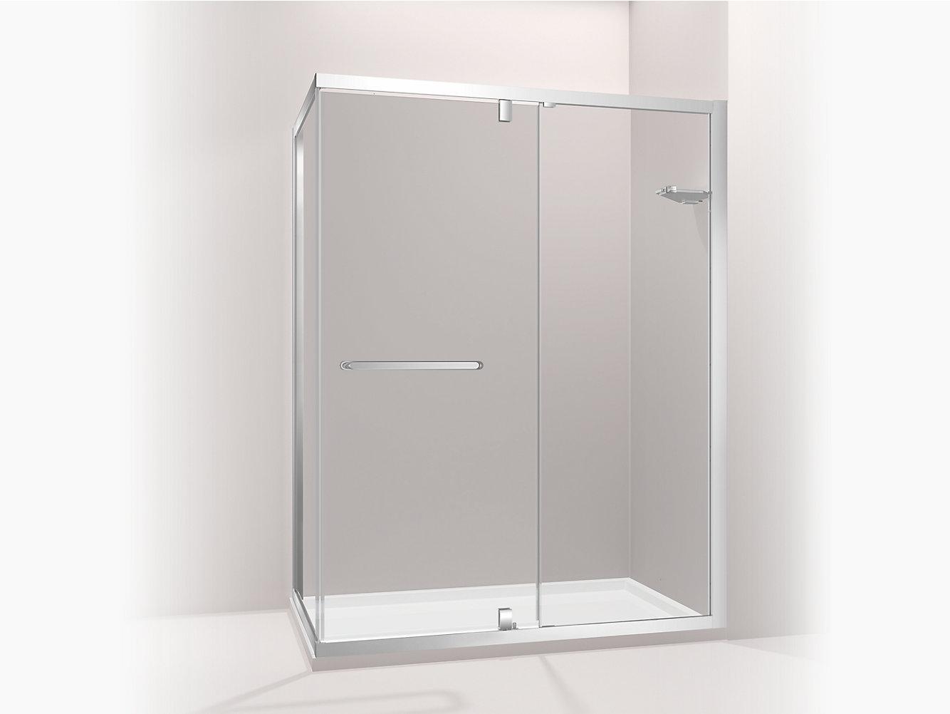 Skyline L-Shaped Shower Enclosure | 81019T-FM | KOHLER