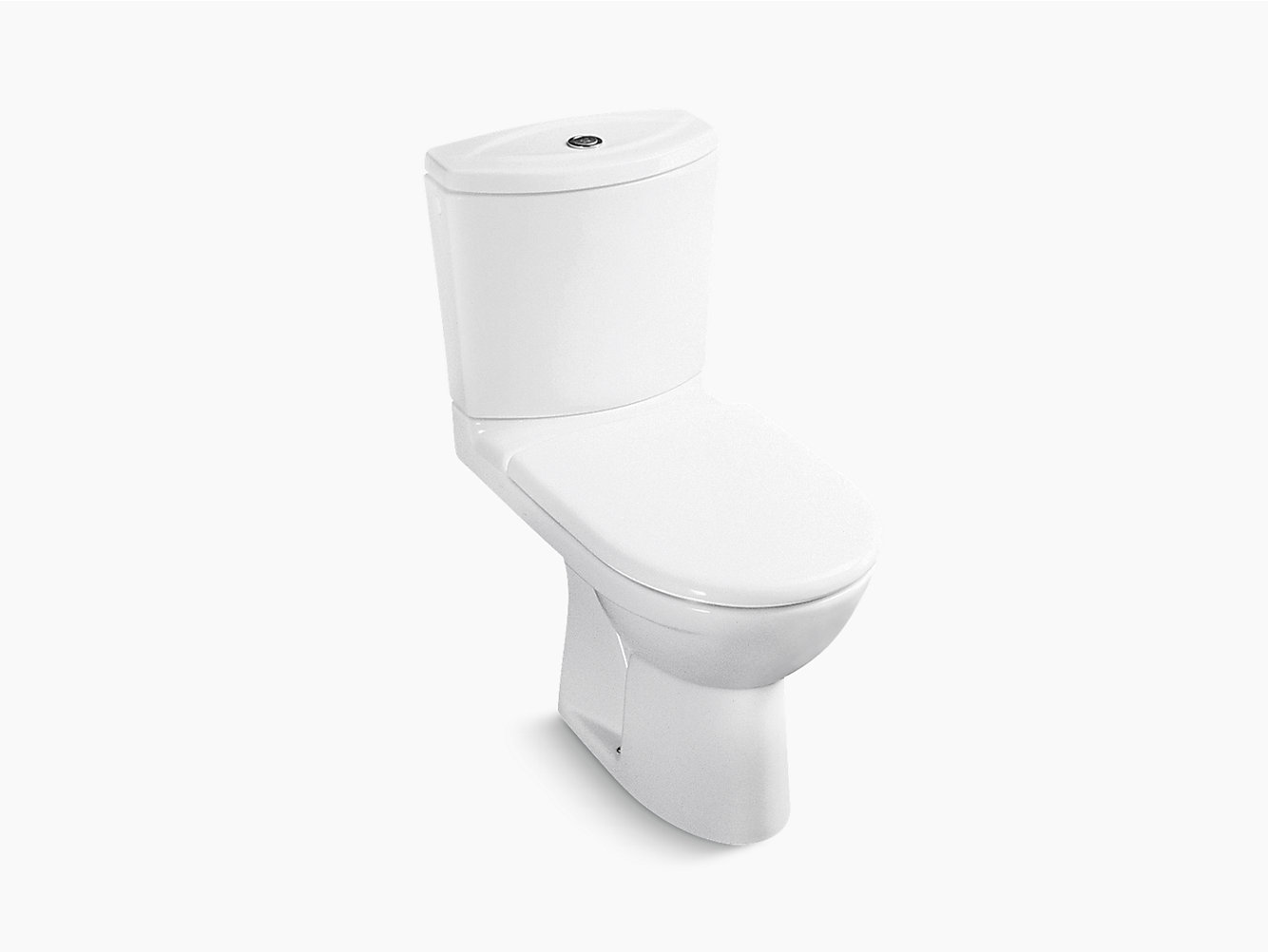 Odeon Two-piece Dual Flush 3/6L Washdown Toilet with Concealed