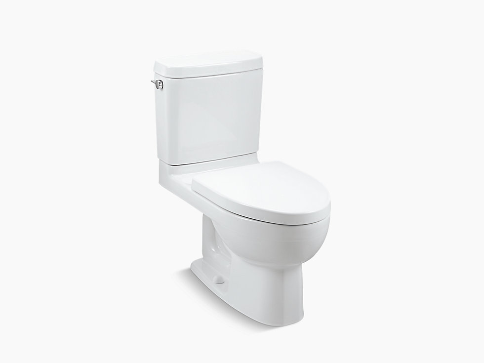 Kohler 3834lm S Reach Two Piece Toilet With Exposed