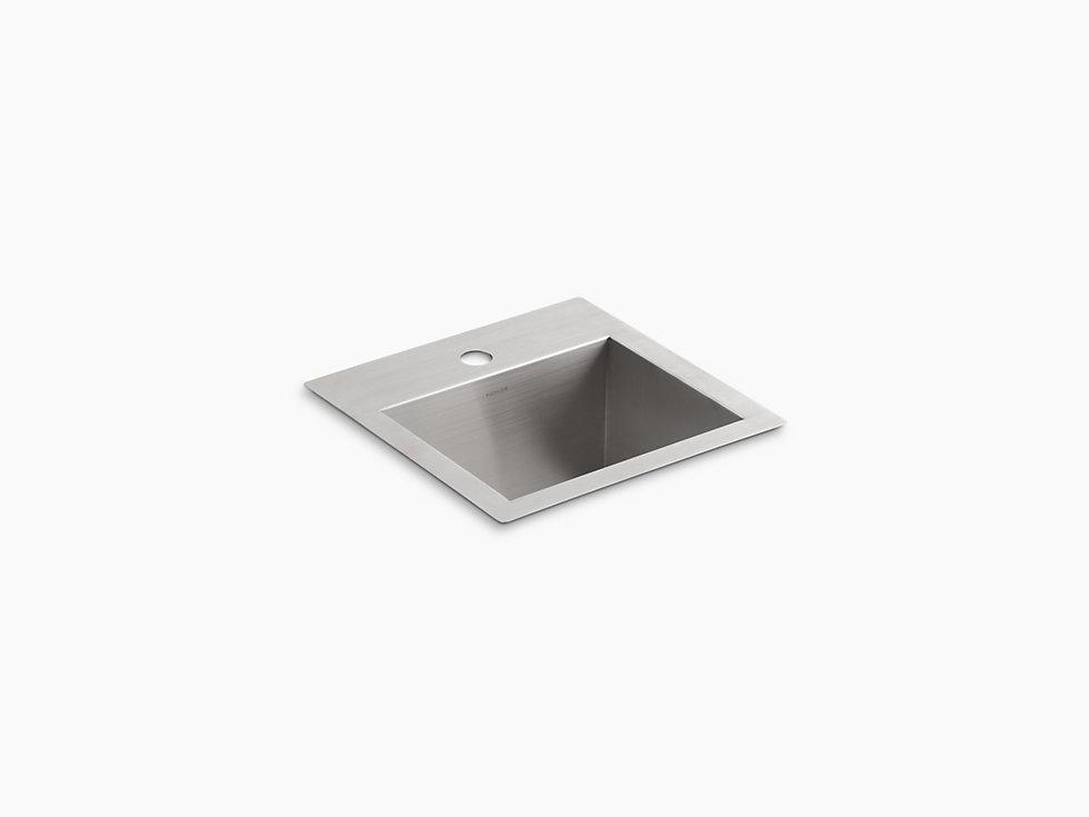 KOHLER | 3840-1 | Vault top-mount/under-mount bar sink ...