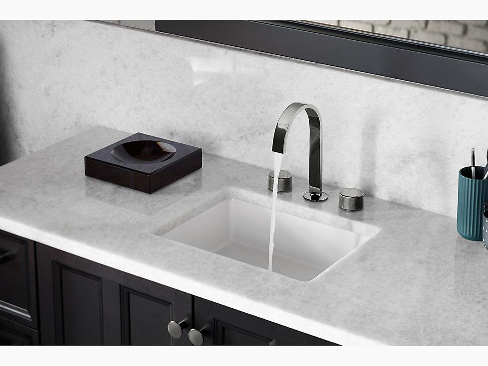 Kohler 2882 Verticyl Rectangular Under Mount Bathroom Sink