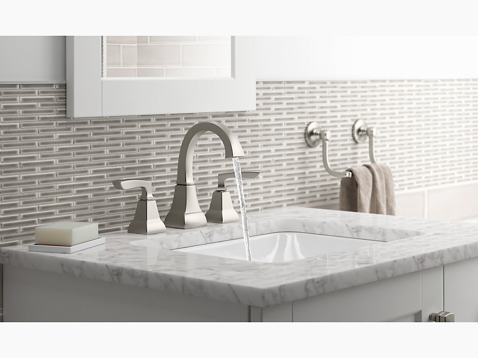 Kohler 20000 Caxton R Rectangle Under Mount Bathroom Sink With Overflow And Clamp Assembly