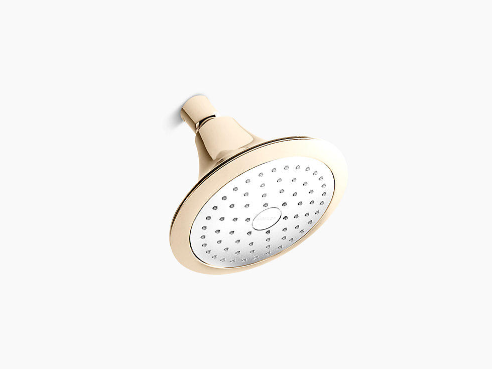 "Finial®  5.5"" Round Showerhead with Katalyst® Air-induction Spray"
