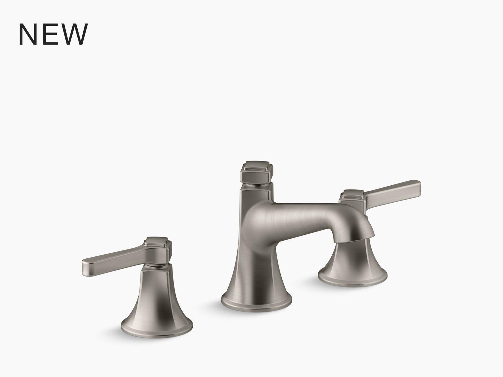 K 77974 4 Components Bathroom Sink Handles With Lever Design