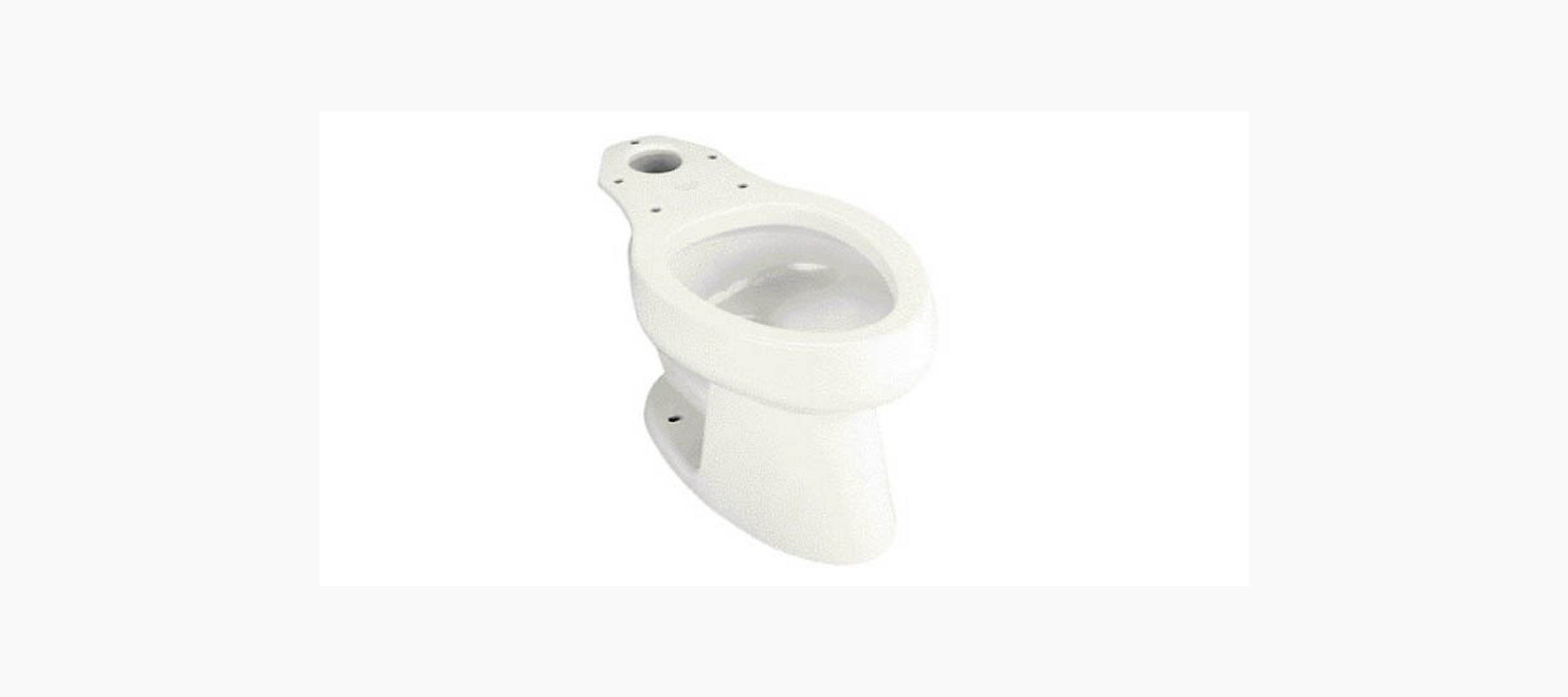 Kohler K 4276 L Wellworth Elongated Bowl With Bedpan Lugs