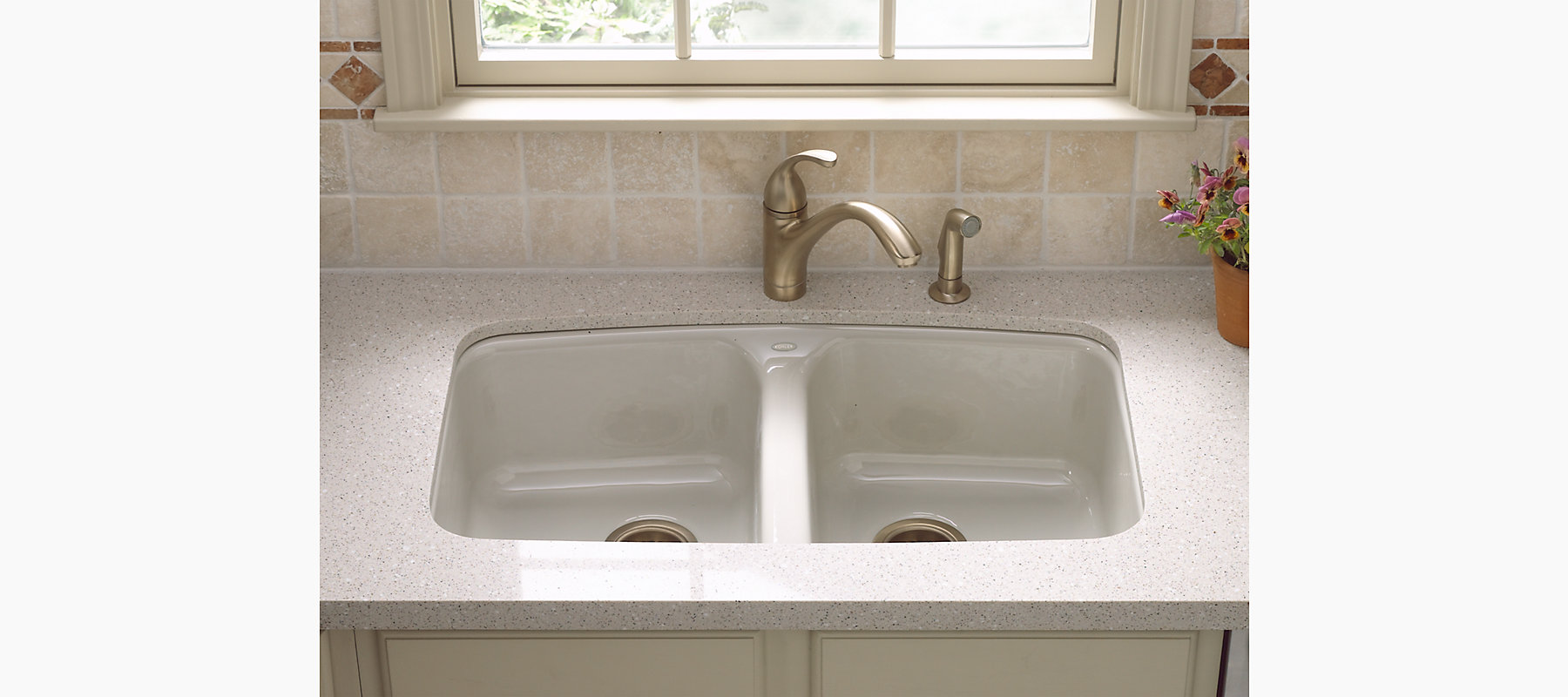 Brookfield Under-Mount Kitchen Sink with Five Faucet Holes | K ...
