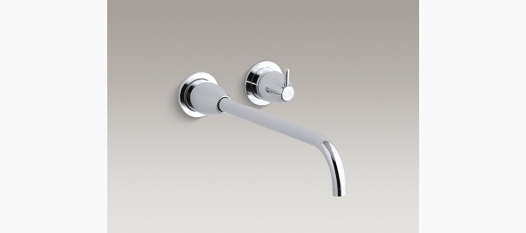 Falling Water Original Design Wall-Mount Sink Faucet Trim | K-T199 ...