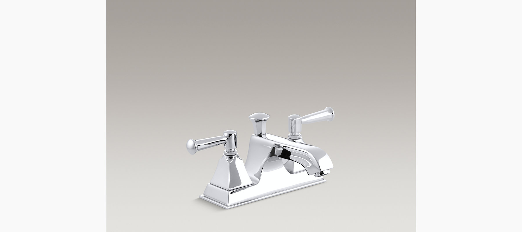 Memoirs Stately Centerset Sink Faucet with Lever Handles   K-452-4S ...