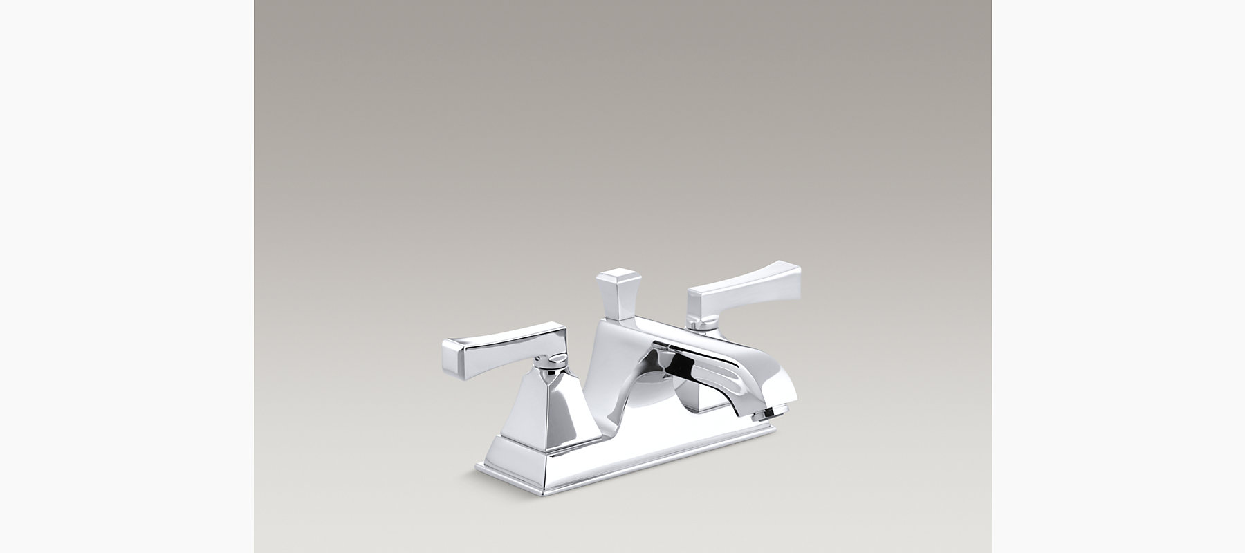 Memoirs Stately Centerset Sink Faucet with Lever Handles   K-452-4V ...