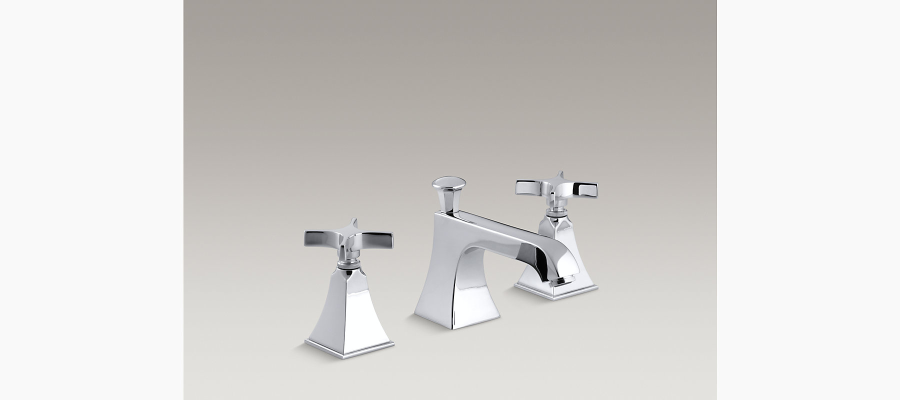 Memoirs Stately Widespread Sink Faucet
