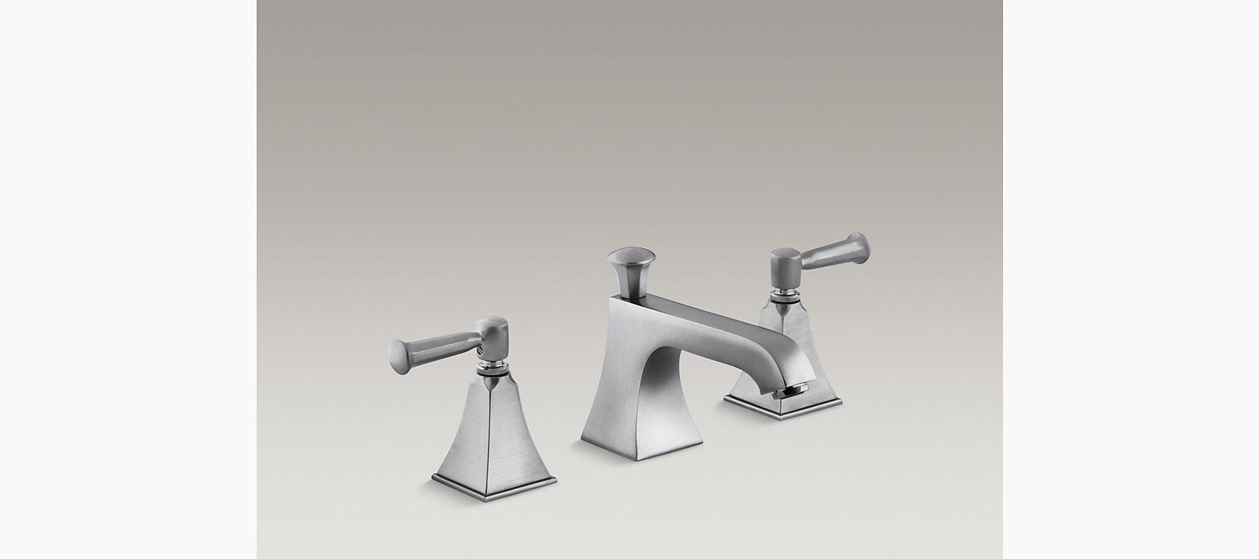 Memoirs Stately Widespread Sink Faucet   K-R454-4S   KOHLER