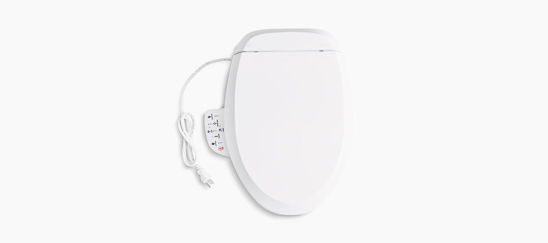Elongated Bidet Toilet Seat Bathroom Kohler Kohler