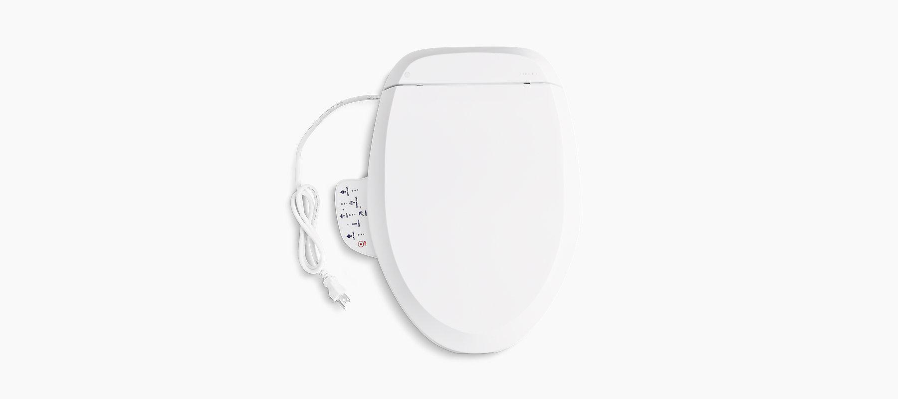 Elongated Bidet Toilet Seat Bathroom Kohler Kohler