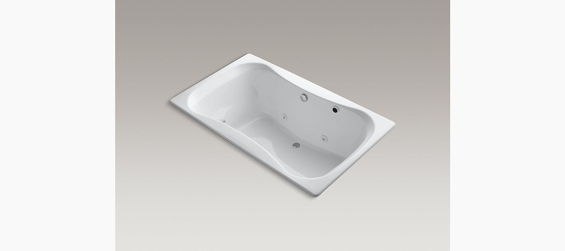 KOHLER| Infinity Bath 6-Foot Whirlpool with Left-Hand Pump | KOHLER